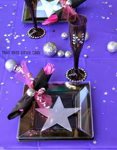 Pop Star Birthday Party | That Cute Little Cake