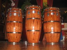 Some of the nicest Gon Bops congas ever made, totally beautiful and great sounding