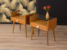 Vintage Kommoden - 2 X 50er Nachttisch, Kommode, 60er, Vintage, WK - ein Designerstück von Mid-Century-Friends bei DaWanda