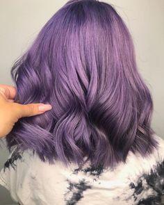 Nothing gets between me and my purple Yoshika from also styled t. Pastel Lavender Hair, Lilac Hair, Burgundy Hair, New Hair Colors, Hair Colour, Caramel Hair, Hair Shades, Dye My Hair, Hair Colorist