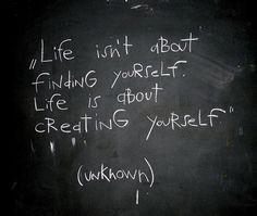 create yourself!
