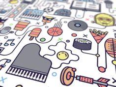 Pattern Illustrations on Behance