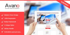 Buy Avano One Page PSD Template by BrighThemes on ThemeForest. Avano is a clean, modern, Beautifull customize PSD theme. Template Site, Psd Templates, First Page, Clean Design, Design Development, Wordpress Theme, Pixar, Web Design, Marketing