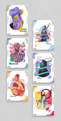 Music Poster Design Project Graphic Design Inspiration by Zeka Design - Poster Design Portfolio by Zeka Design Design Portfolio Layout, Layout Design, Design De Configuration, Web Design, Graphic Design Layouts, Design Blog, Graphic Design Projects, Graphic Design Posters, Graphic Design Typography