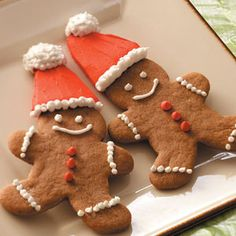 Gingerbread Cookies Recipe from Taste of Home -- shared by Christy Thelan of Kellogg, Iowa