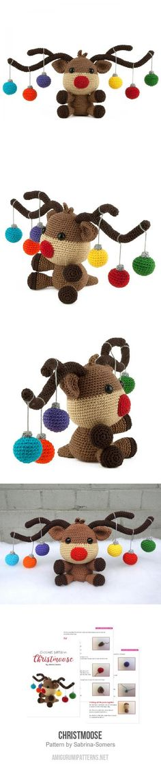 Christmoose Amigurum