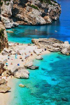 Cala Marioulu, Sardinia, Italy