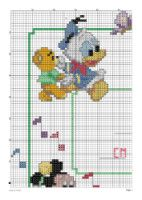 Gallery.ru / Фото #3 - Natalicio 3 - cnekane Counted Cross Stitch Patterns, Cross Stitch Charts, Minnie, Mickey Mouse, Disney Mickey, Disney Stich, Mickey And Friends, Some Ideas, Disney Cartoons