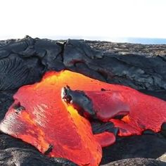 Hot lava 🌋,Funny, , Funny Categories Fuunyy Source by Satisfying Pictures, Oddly Satisfying Videos, Lava, Plakat Design, Natural Disasters, Science And Nature, Natural Wonders, Amazing Nature, Mind Blown