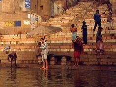 Benares, India - the Ganges River