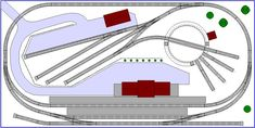 Ultra Small 4' x 2' N-scale Track Plan #2