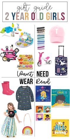 want, need, wear, read: the gift guide for 2 year old girls