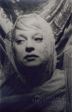 Carol Channing, 1956. Photograph by Carl Van Vechten. (via Decaying Hollywood Mansions)