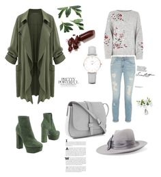 """Cardigan :)"" by azradesing ❤ liked on Polyvore featuring Casadei, LAQA & Co., CLUSE, Gap and Eugenia Kim"