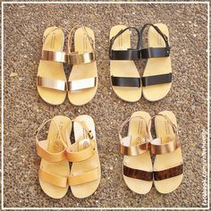 Flat Sandals, Flats, Me Too Shoes, Slip On, Fashion, Loafers & Slip Ons, Moda, Fashion Styles, Ballerinas