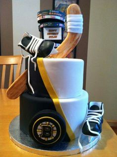 So cool. Bruins cake