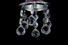 Oprawa halogenowa kryształowa