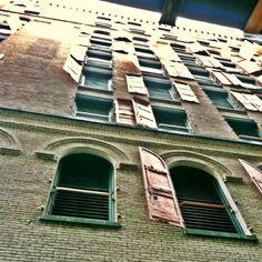 Jersey St., Soho. Hidden alley view.