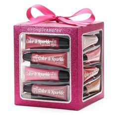 Simple Pleasures 12-pc. Lip Gloss Collection Cube Gift Set 9e96b5c78