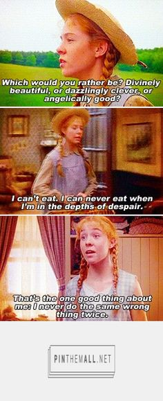 Anne Shirley. seeing these posts on tumblr makes me want to rewatch Anne of Green Gables.
