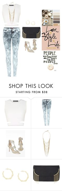 """""""7 for All Mankind feat BCBGMAXAZRIA"""" by ttpuspa ❤ liked on Polyvore featuring BCBGMAXAZRIA and 7 For All Mankind"""