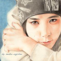 ニノ君 Colored Pencils, Draw, Portrait, Colouring Pencils, Headshot Photography, Crayons, Men Portrait, Paint Colors, Paintings