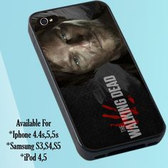 "Daryl Dixon The Walking Dead Print on Hard Plastic For iPhone 5 Case, Black Case  This case is available for: iPhone 4/4S iPhone 5/5S iPhone 6 4.7"" screen Samsung Galaxy S4 Samsung Galaxy S5 iPod 4 iP"