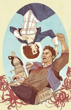 Bioshock Infinite by barleytea.tumblr.com
