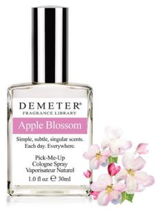 Apple Blossom from Demeter fragrance Library in a roll on