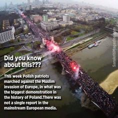 Poland refuses 7,000 Muslim refugees after Brussels bombing. The United States must stop Islamization of America. Obama this is on you. Learn from the mistakes of Europe before it's too late. We don't owe them anything. GOD BLESS AMERICA