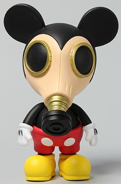 The Made by Monsters x Ron English Mousemask Murphy (International Colo Edition) (10 Inches) by *Toys (Mickey Mouse)