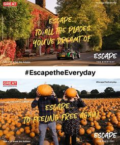 VisitBritain launches a new campaign to help you #EscapetheEveryday this winter. British Travel, British Countryside, Weekend Getaways, Where To Go, Campaign, Coast, Winter, Outdoor, Food