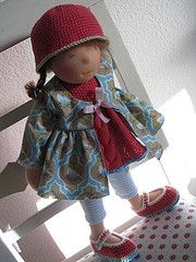 cutest little dolls {diy inspiration}