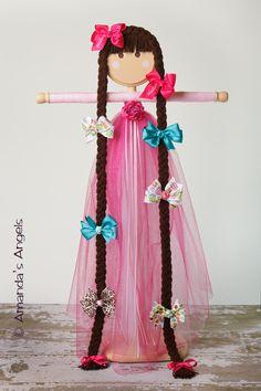 hair bow holder - Google Search                                                                                                                                                                                 Más