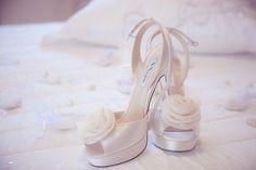 chaussures de mariée ivoires