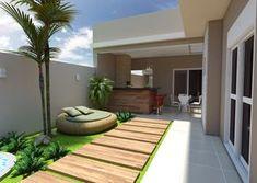 Resultado de imagem para plantas e projetos de casas terreas modernas