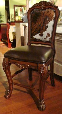 cowhide dining room chairs | salacasa | pinterest | room, westerns