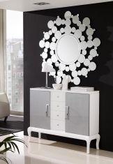 Kommode i tre: Modell TOSCANA Hvit Toscana, Decoration, Mirror, Furniture, Home Decor, 1, Sideboard Cabinet, Timber Furniture, Modern Mirrors