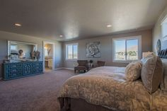 The Waterbrook by Hayden Homes - Master Bedroom - the Waterbrook offers 4 bedrooms and 2.5 bathrooms with 3,195 sq. feet.
