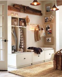 We definitely will need this storage in the mudroom (especially for muddy boots).  We plan to play in a whole lot of DIRT!