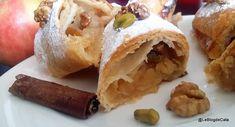 Strüdel aux pommes, noix et pistaches Romanian Food, Cata, Fondant, Tacos, Mexican, Apple, Blog, Cooking, Ethnic Recipes