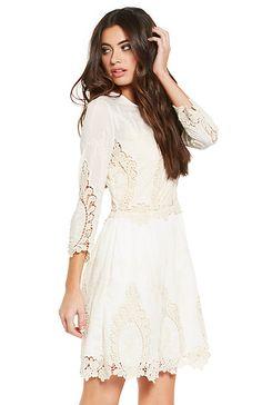 Dolce Vita Valentina Dress in Ivory XS - L | DAILYLOOK