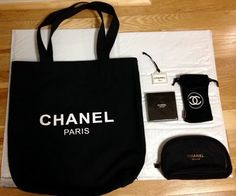ea24d0032afa Chanel + Vip Gift Accessories Black Tote Bag. Get one of the hottest styles  of