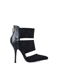 Cut Out Stiletto Boot - Nly Shoes