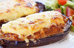 Μελιτζάνες Παπουτσάκια Side Recipes, Greek Recipes, Gourmet Recipes, Cooking Recipes, Cypriot Food, Greek Cooking, Greek Dishes, Moussaka, Eggplant Recipes