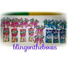 #shopkins #fundip socks and #cheerbow sets Www.blingonthebows.com