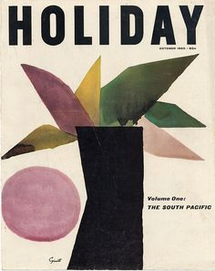 Holiday, October 1960  Cover art: George Giusti