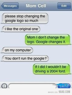 Mothers and computers xD