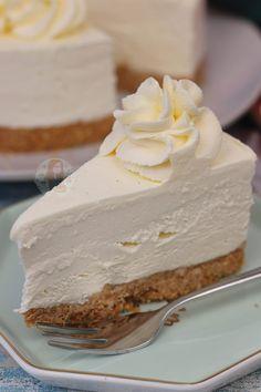 No-Bake Vanilla Cheesecake - Back to Basics! - Jane's Patisserie