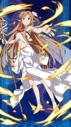 asuna in alfiem Chica Gato Neko Anime, Chica Anime Manga, Arte Online, Online Art, Tous Les Anime, Sword Art Online Wallpaper, Kirito Asuna, Accel World, Sword Art Online Kirito